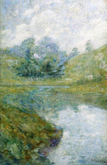 Landscape1 | John Twachtman | oil painting