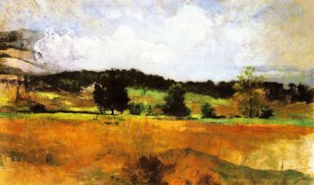 Landscape Study | John Twachtman | oil painting