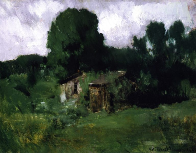 Landscape | John Twachtman | oil painting