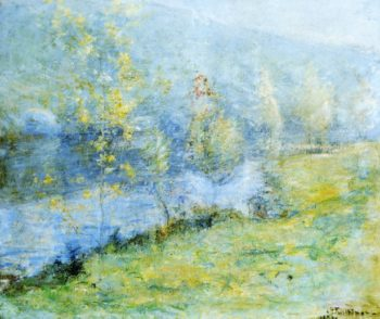 May Morn | John Twachtman | oil painting