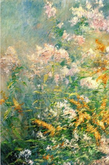 Meadow Flowers | John Twachtman | oil painting