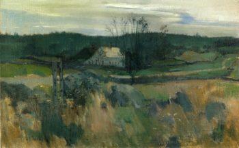 Middlebrook Farm | John Twachtman | oil painting