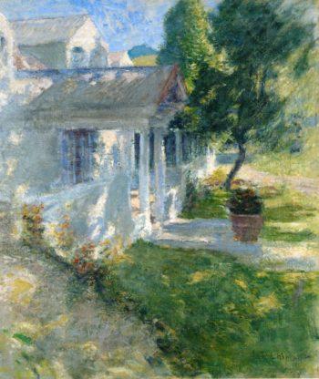 My House | John Twachtman | oil painting