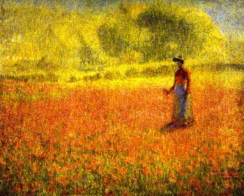 Poppies | Phillip Leslie Hale | oil painting