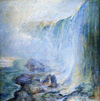 Niagara Falls 1 | John Twachtman | oil painting