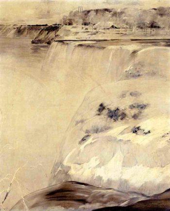 Niagara Falls | John Twachtman | oil painting