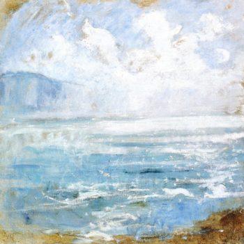 Niagara Gorge 1 | John Twachtman | oil painting