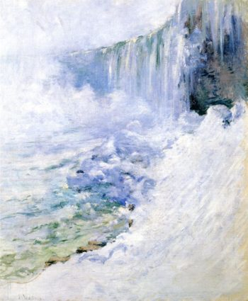 Niagara in Winter | John Twachtman | oil painting