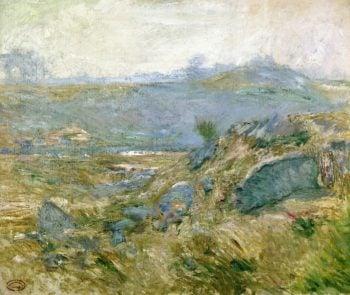 November Haze | John Twachtman | oil painting