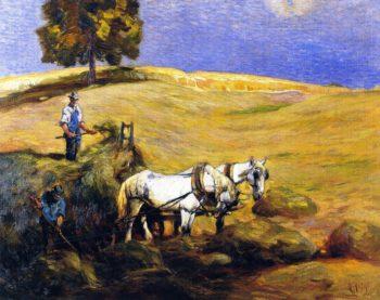The Second Cutting   Mathias J Alten   oil painting