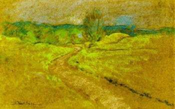 Road to Round Hill | John Twachtman | oil painting