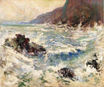 Sea Scene | John Twachtman | oil painting