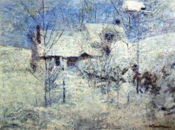 Snowbound | John Twachtman | oil painting
