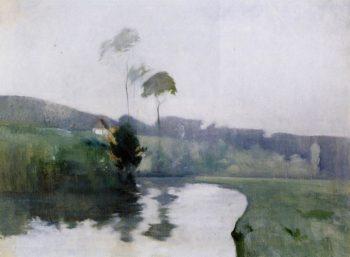Springtime | John Twachtman | oil painting