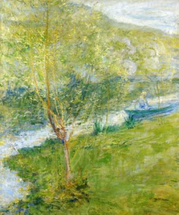 Spring | John Twachtman | oil painting