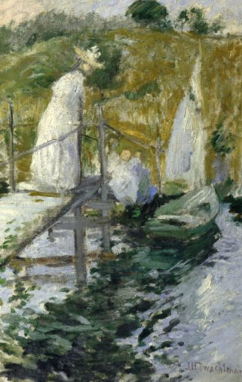 Summer Afternoon | John Twachtman | oil painting