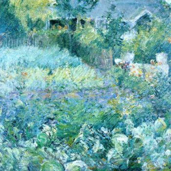 The Cabbage Patch | John Twachtman | oil painting