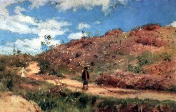Summer landscape in Kurskaya guberniya | Ilia Efimovich Repin | oil painting