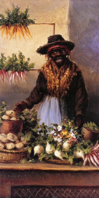 Vegetable Vendor at Charleston Market | William Aiken Walker | oil painting