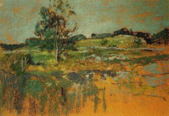 The Ledges | John Twachtman | oil painting