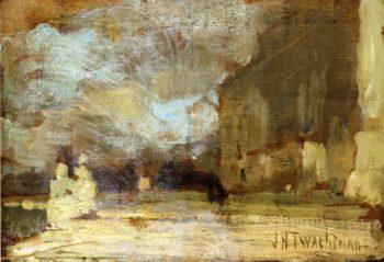 The Quai Venice | John Twachtman | oil painting