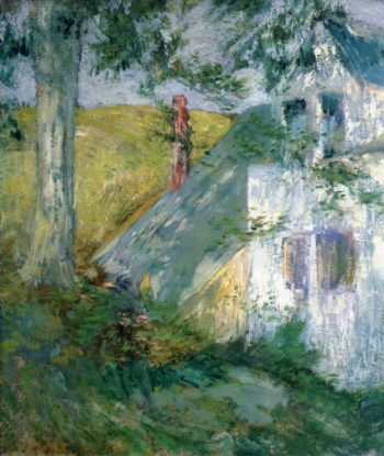 The Summer House | John Twachtman | oil painting