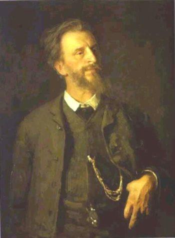 Portrait of the Artist Grigory Myasoedov | Ilia Efimovich Repin | oil painting
