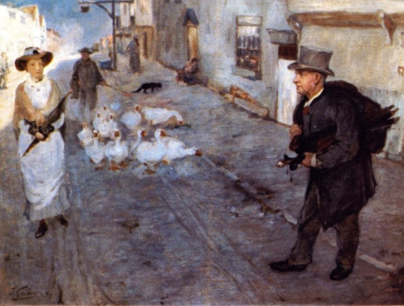 The Pedlar | James Guthrie | oil painting