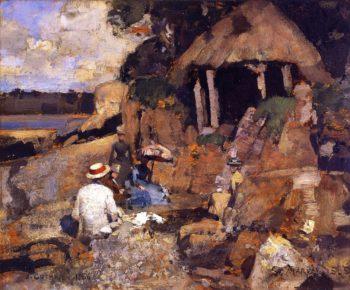 St Mary's Isle Kirkcudbright | James Guthrie | oil painting