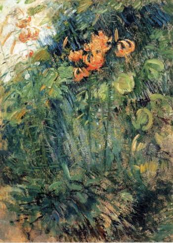 Tiger Lilies 1 | John Twachtman | oil painting