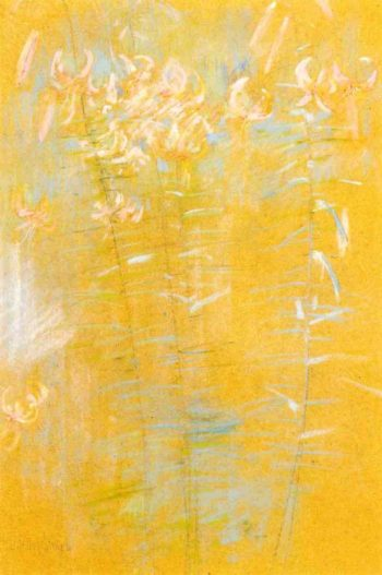 Tiger Lilies | John Twachtman | oil painting