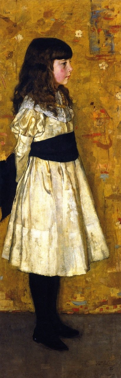 Miss Helen Sowerby   James Guthrie   oil painting