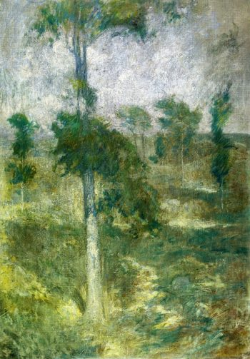 Tulip Tree Greenwich | John Twachtman | oil painting