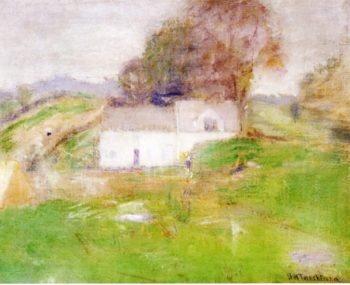 Twachtman's House | John Twachtman | oil painting