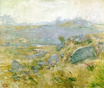 Upland Pastures | John Twachtman | oil painting