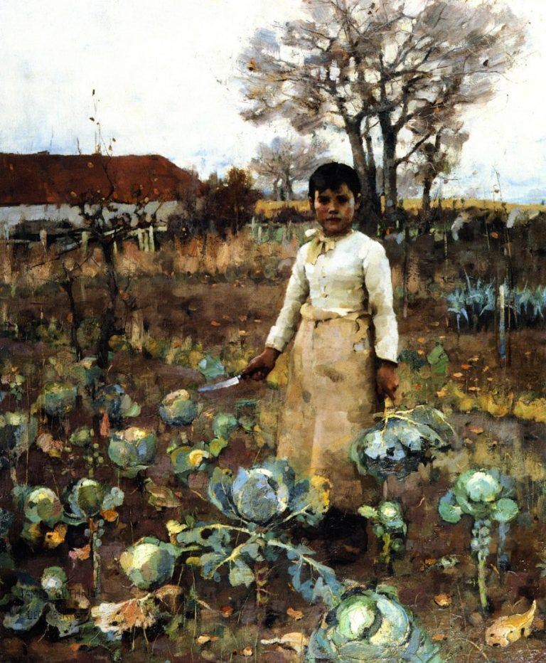 A Hind's Daughter | James Guthrie | oil painting
