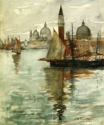 Venice 1 | John Twachtman | oil painting