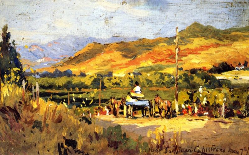 Near San Juan Capistrano | Colin Campbell Cooper | oil painting