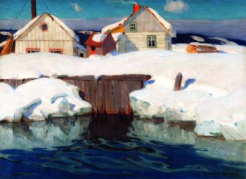 Winter Sun | Clarence Gagnon | oil painting