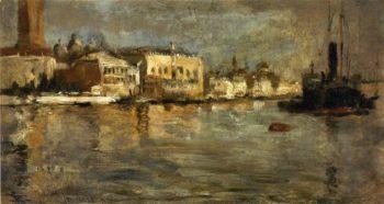 View of Venice 1 | John Twachtman | oil painting