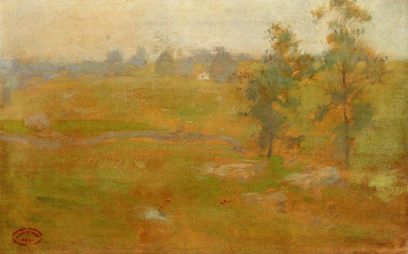 Summer Landscape | John Twachtman | oil painting
