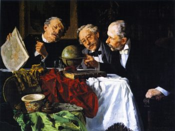 Home Again | Louis C Moeller | oil painting