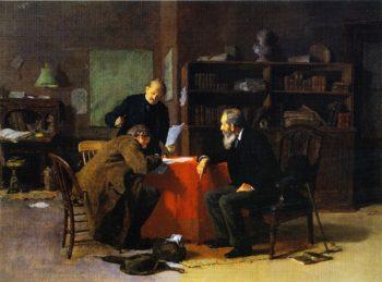 Legal Advice | Louis C Moeller | oil painting