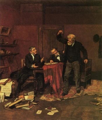 Stubborn | Louis C Moeller | oil painting