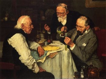 The Chemists | Louis C Moeller | oil painting