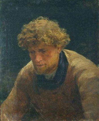 Burlak | Ilia Efimovich Repin | oil painting
