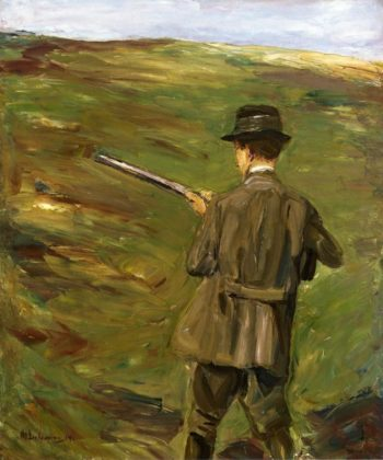 A Hunter in the Dunes | Max Liebermann | oil painting