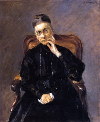 Bertha Biermann | Max Liebermann | oil painting