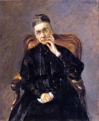 Bertha Biermann | Max Liebermann | oil painting