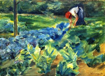 Cabbage Field | Max Liebermann | oil painting
